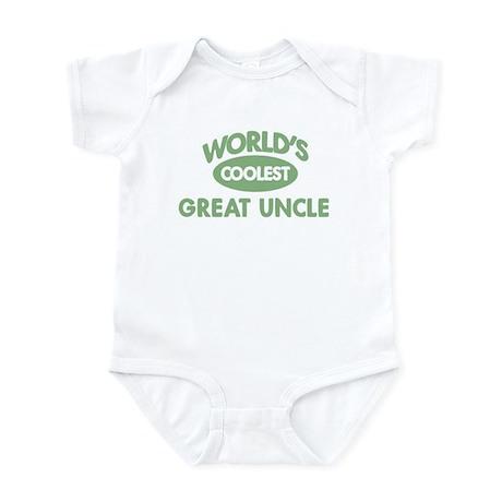 Coolest GREAT UNCLE Infant Bodysuit