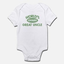 Coolest GREAT UNCLE Infant Bodysuit