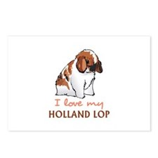 I Love My Holland Lop Postcards (Package of 8)