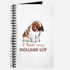 I Love My Holland Lop Journal