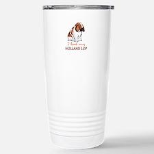 I Love My Holland Lop Travel Mug