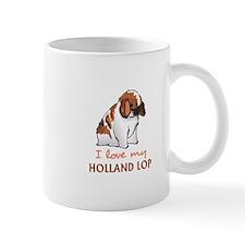 I Love My Holland Lop Mugs
