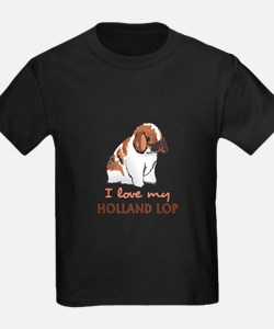 I Love My Holland Lop T-Shirt