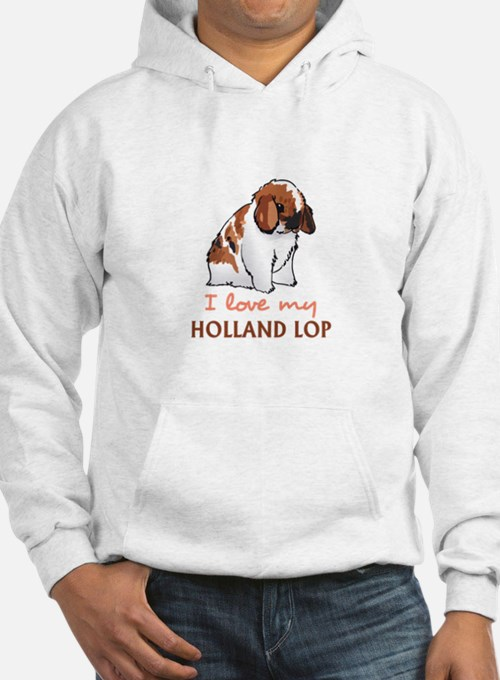 I Love My Holland Lop Hoodie