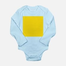 abstract bold yellow Body Suit
