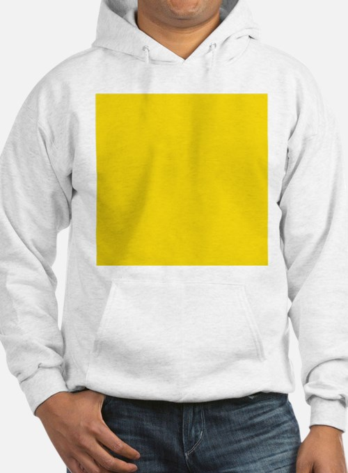 abstract bold yellow Hoodie