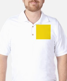 abstract bold yellow T-Shirt