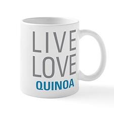 Live Love Quinoa Mugs