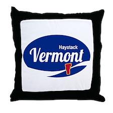 Haystack Ski Resort Vermont Epic Throw Pillow