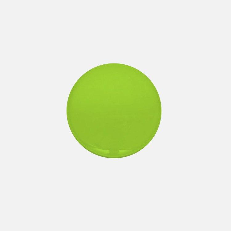 cute Neon Green Mini Button