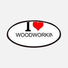 I Love Woodworking Patch