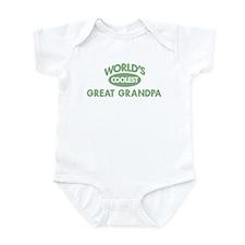Coolest GREAT GRANDPA Infant Bodysuit