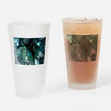 Ammonite Seascape.png Drinking Glass