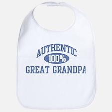 Authentic Great Grandpa Bib