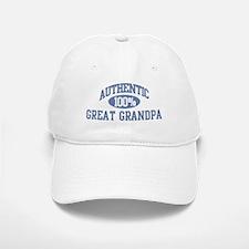 Authentic Great Grandpa Baseball Baseball Cap