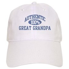 Authentic Great Grandpa Baseball Cap