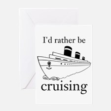 Cruising Greeting Cards