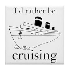 Cruising Tile Coaster