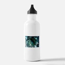 Ammonite Seascape.png Water Bottle