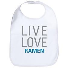 Live Love Ramen Bib