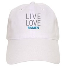 Live Love Ramen Baseball Cap