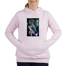 jellyfish forest.png Women's Hooded Sweatshirt