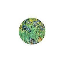 Van Gogh's Irises Mini Button