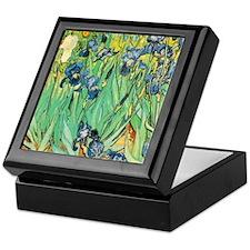 Van Gogh's Irises Keepsake Box