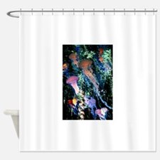 jellyfish forest.png Shower Curtain