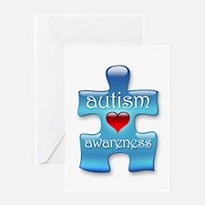 Autism Awareness (B) Greeting Card