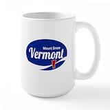 Mount snow Large Mugs (15 oz)