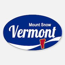 Mount Snow Ski Resort Vermont Epic Decal