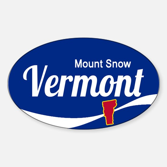 Mount Snow Ski Resort Vermont Epic Decal
