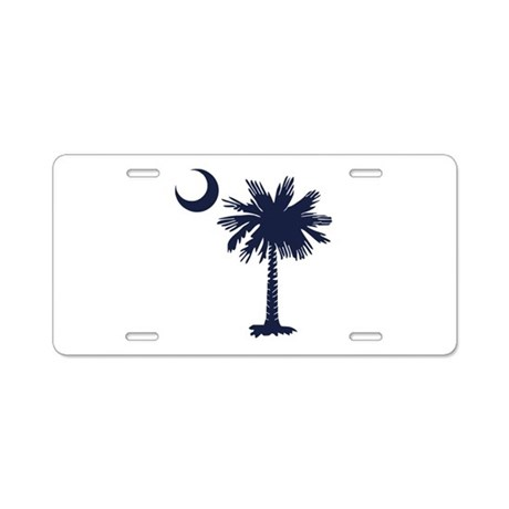 SC Flag Aluminum License Plate by HomeDesignz