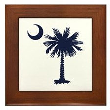 SC Flag Framed Tile