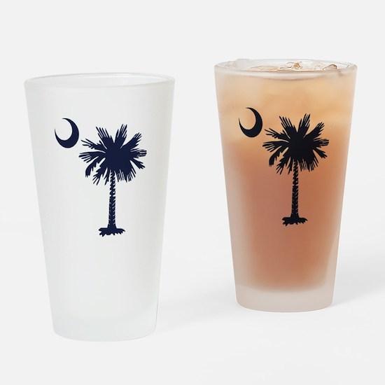 SC Flag Drinking Glass