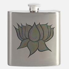 Solar Lotus Flower Flask
