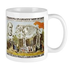 BARNUM ELEPHANT coffee cup