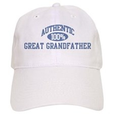 Authentic Great Grandfather Baseball Cap