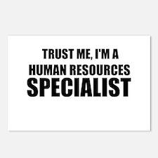 Trust Me, I'm A Human Resources Specialist Postcar