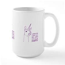 Llamacorn Loves You Mugs