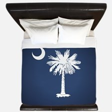 SC Flag King Duvet