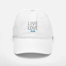 Live Love Run Baseball Baseball Cap