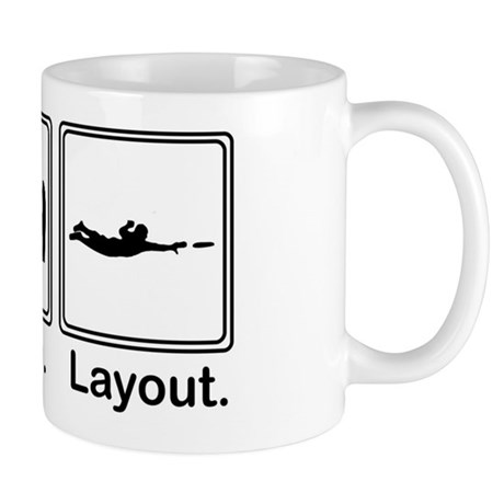Eat, Sleep, Layout Mug