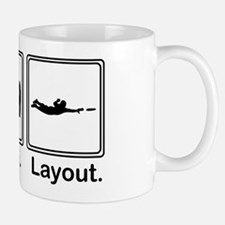 Eat, Sleep, Layout Mug