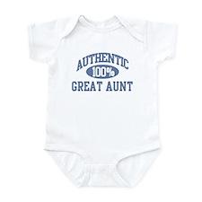 Authentic Great Aunt Infant Bodysuit