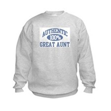 Authentic Great Aunt Sweatshirt