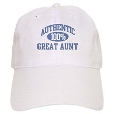 Authentic Great Aunt Baseball Cap
