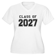 Class of 2027 Plus Size T-Shirt