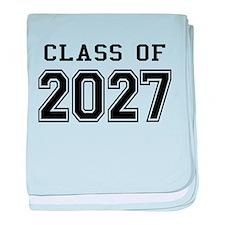 Class of 2027 baby blanket